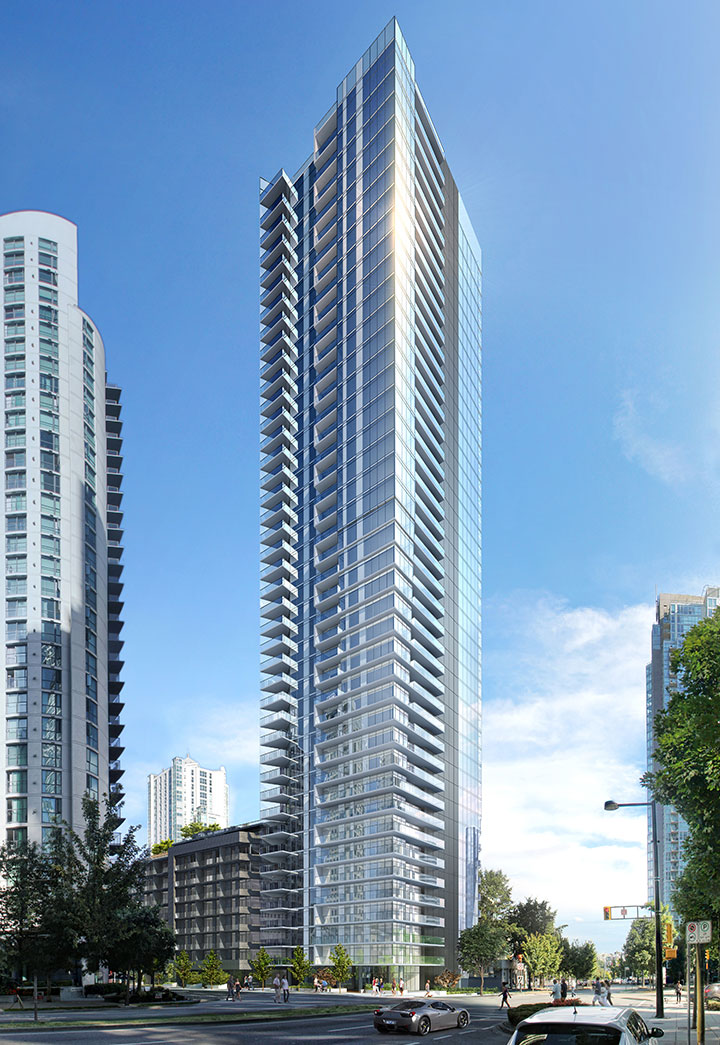 Building the charleson by onni for Modern high rise building design