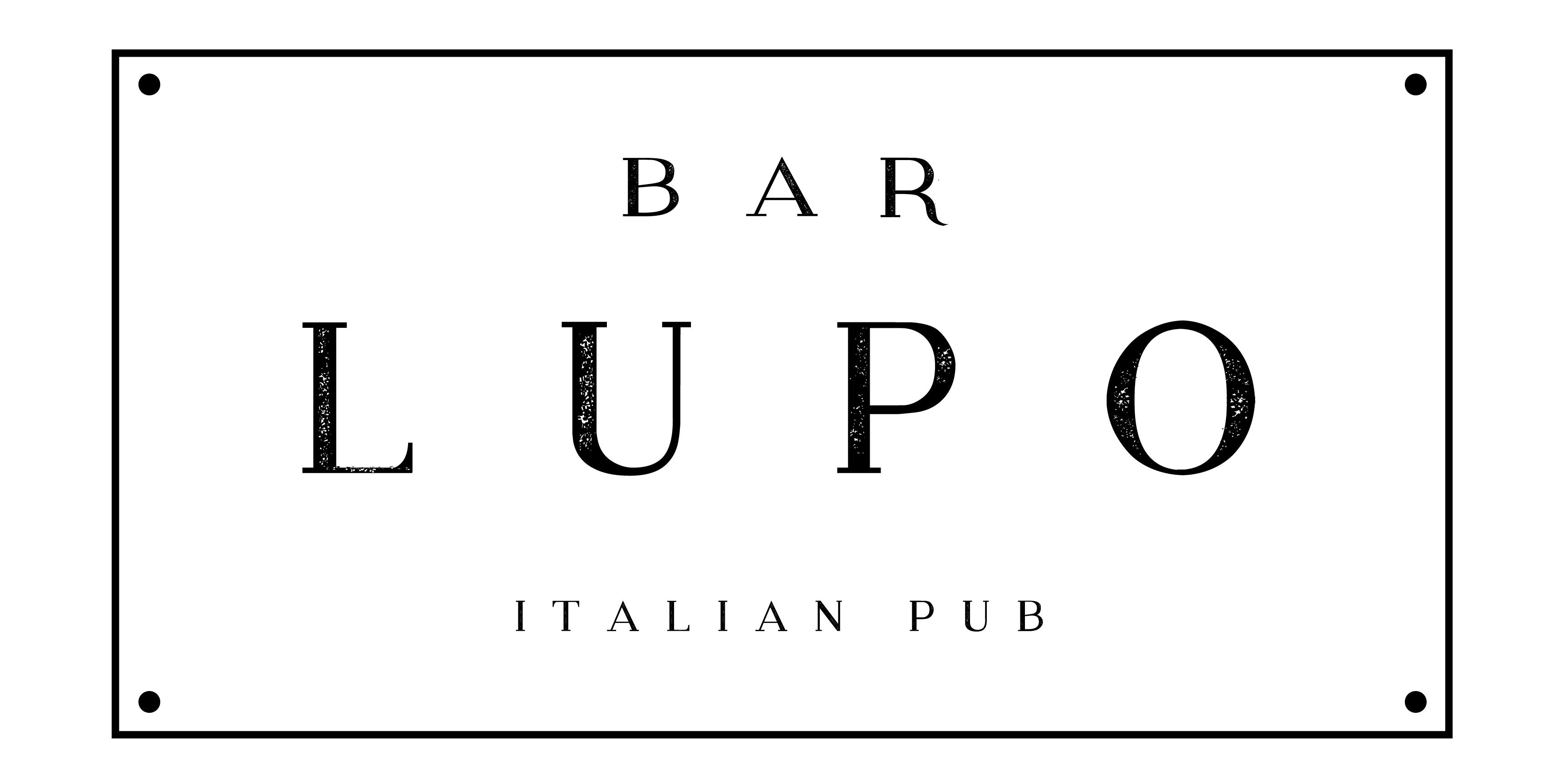 Bar Lupo - Logo