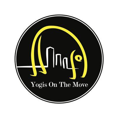 Yogis on the Move - Logo