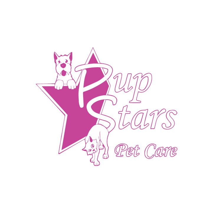 PupStars Pet Care - Logo
